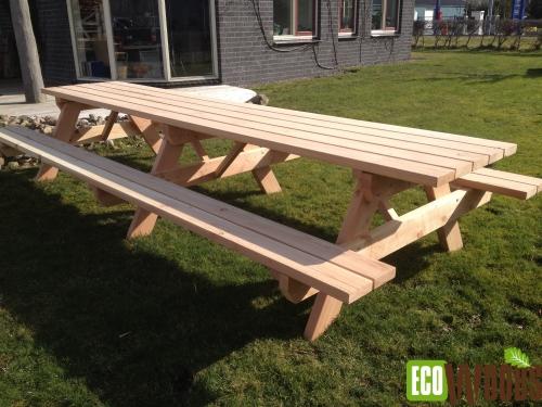 Grote picknicktafel MAXI