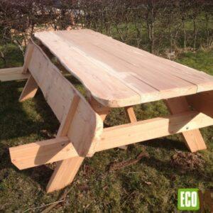 Opklapbare picknicktafel