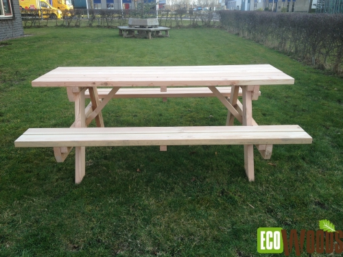 Eco picknicktafel 200 3 1