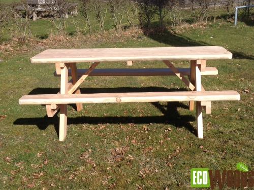 Eco picknicktafel Natuur 200 2 1