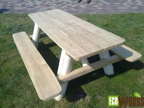 Boomstambank Robinia picknickbank2
