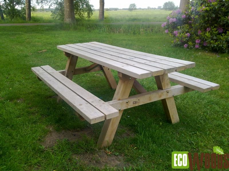 Bos picknickbank eiken Haulerwijk 1