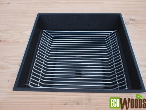 Inbouw BBQ houtskool of gas 4