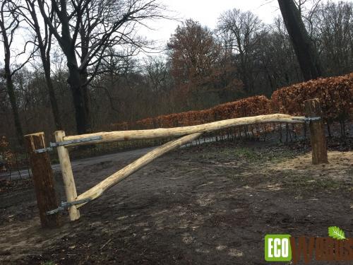 Natuurlijke slagboom Katshuis Den Haag
