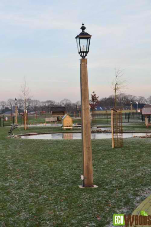Lantaarnpaal Drenthe 300 cm