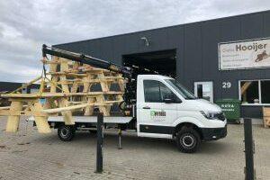 EcoWoods bedrijfswagen