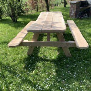 Eco eiken picknicktafel